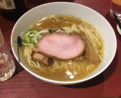 塩麺とソースカツ丼|麺 みつヰ(浅草駅近くのラーメン屋)