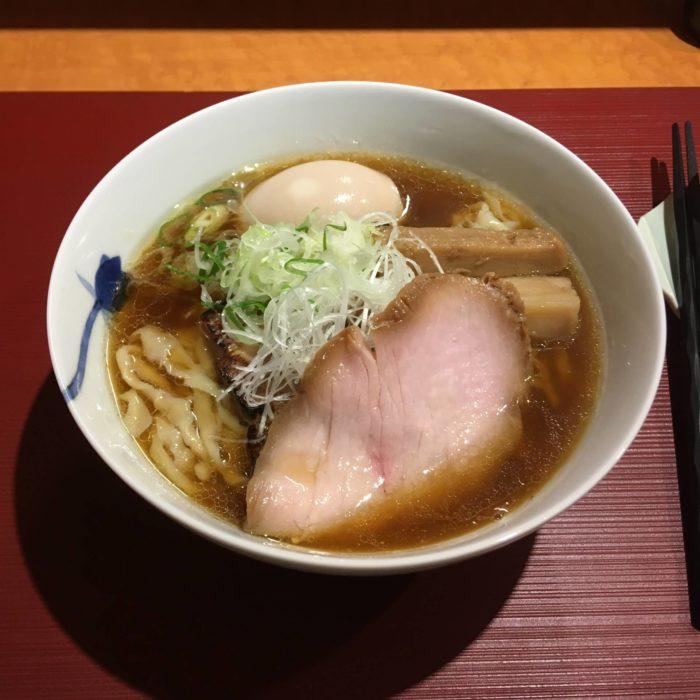麺 みつヰ 醤油麺