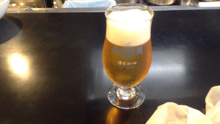 みそ味専門 マタドールの生ビール500円