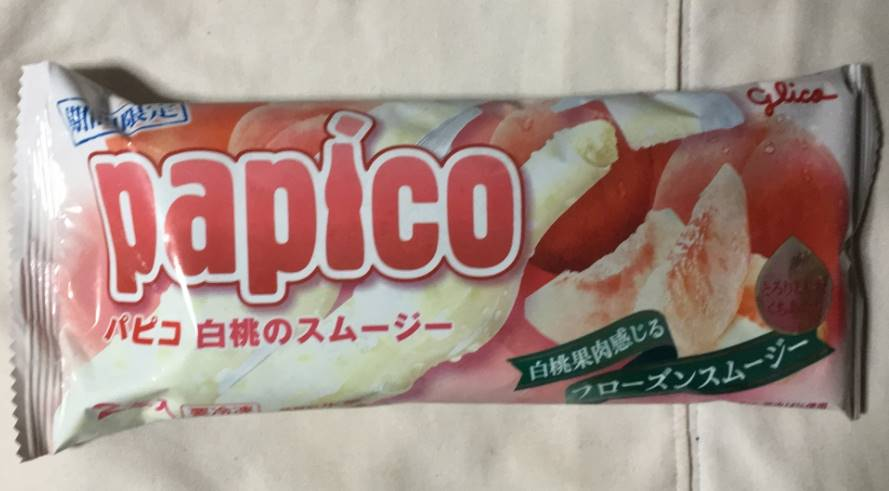 パピコ白桃スムージーパッケージ
