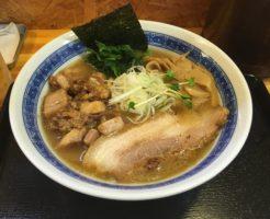 濃厚魚介鶏らーめん800円中川會曳舟店 (麺屋 頂 中川會)