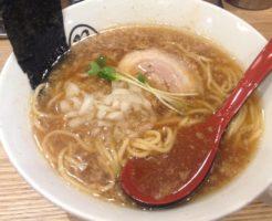 双麺 醤油750円 双麺 錦糸町店
