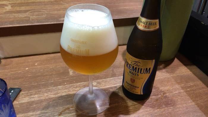 ビール(プレミアムモルツ瓶)