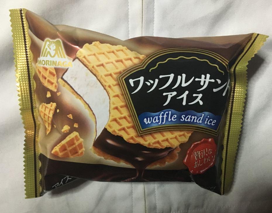 パッケージ写真 ワッフルサンドアイス(アイスミルク)|森永製菓