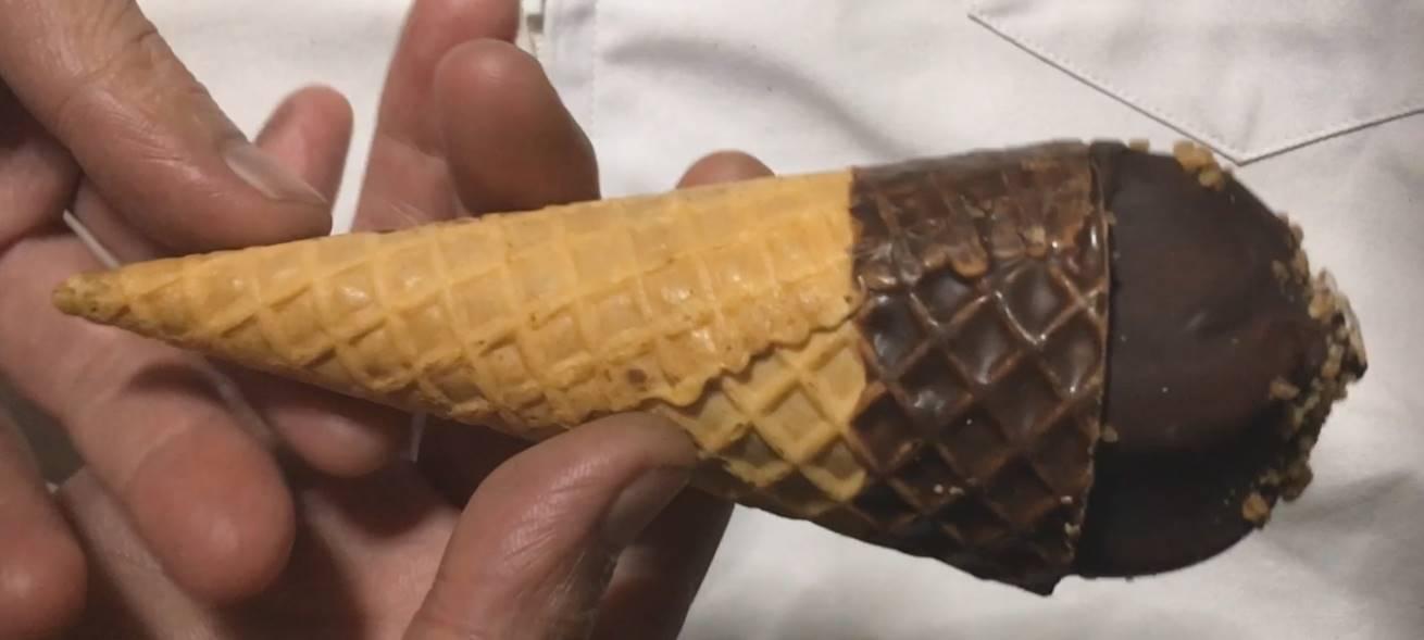 クランチシュガーコーン(アイスクリーム) |センタンのアイス本体