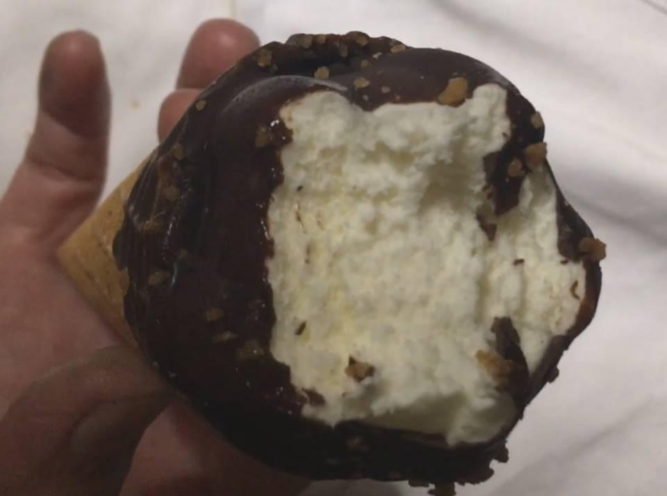 クランチシュガーコーン(アイスクリーム) |センタンのアイスを食べた図