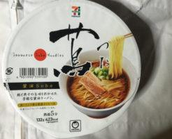 Japanese Soba Noodles蔦のカップラーメン2017年度10月版パッケージ写真