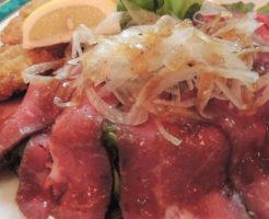 ローストビーフの調理例の写真
