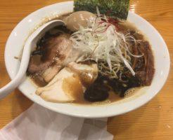 濃口味噌中華そば850円|すずめ食堂