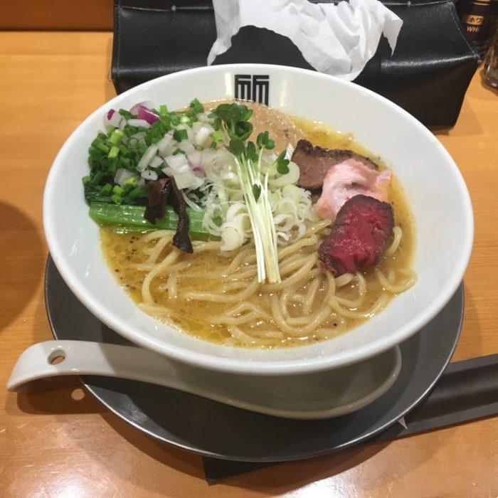 竹末東京プレミアム鶏ホタテそば900円