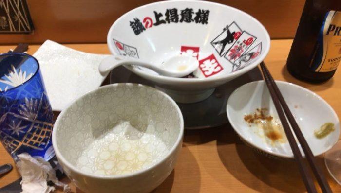 『竹末東京プレミアム』で完食した丼