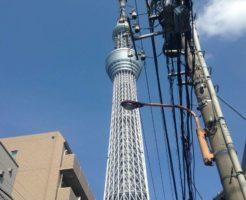 2017年07月06 日撮影の東京スカイツリー