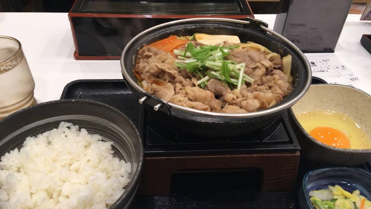 牛すき鍋膳10食目