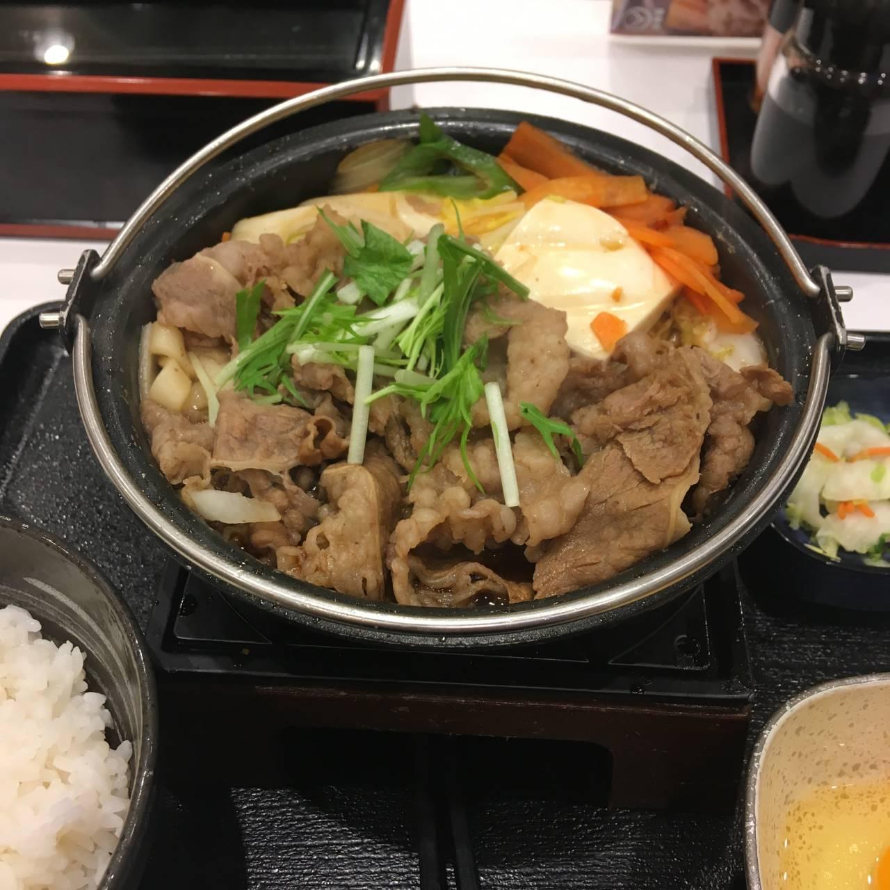 牛すき鍋膳14食目|吉野家