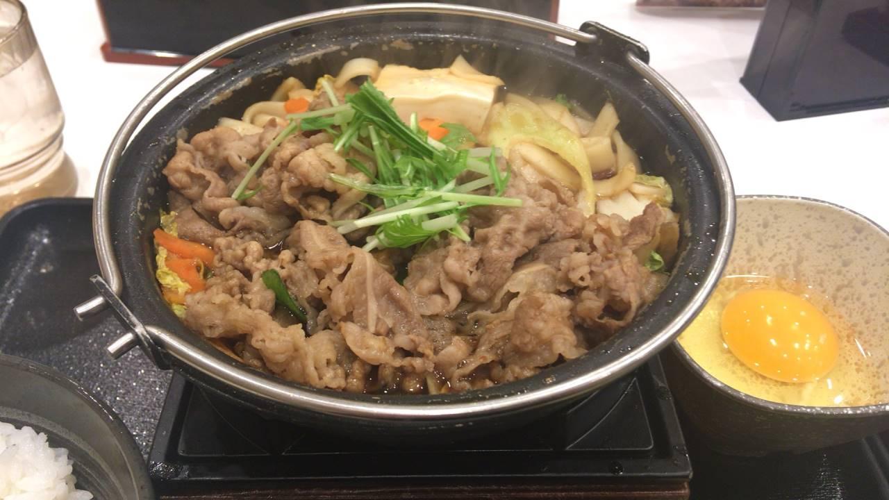 牛すき鍋膳|吉野家