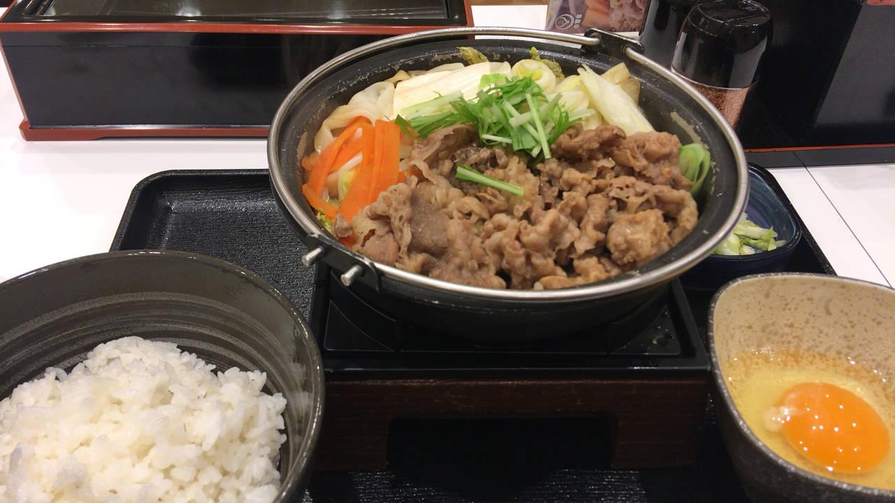 牛すき鍋膳(吉野家)12食目