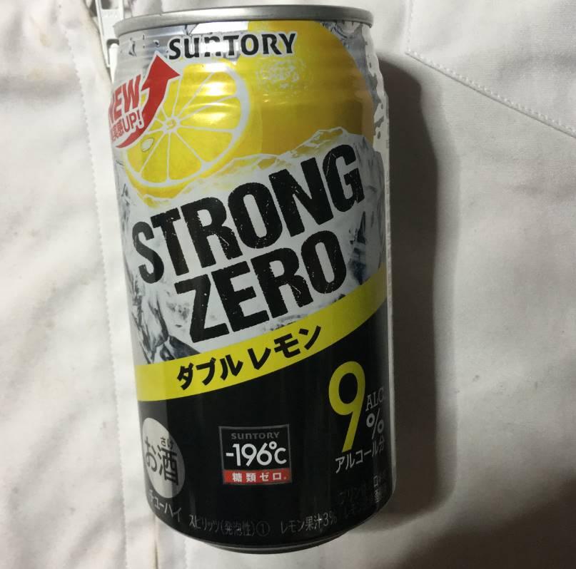 Suntory STRONG ZEROダブルレモン