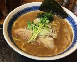 「麺屋 頂 中川會」濃厚魚介鶏らーめん800円