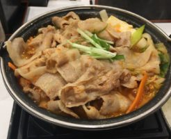 鬼辛豚チゲ鍋膳 単品「大盛り」と「肉二倍盛り」|吉野家