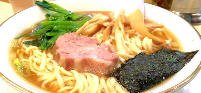 太麺の醤油ラーメン イメージ