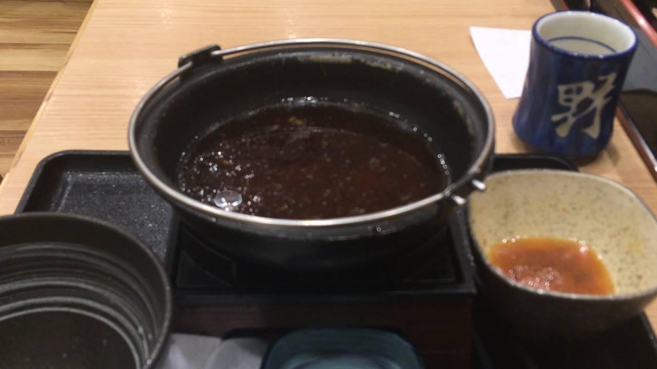 吉野家 牛すき鍋膳5食目完食