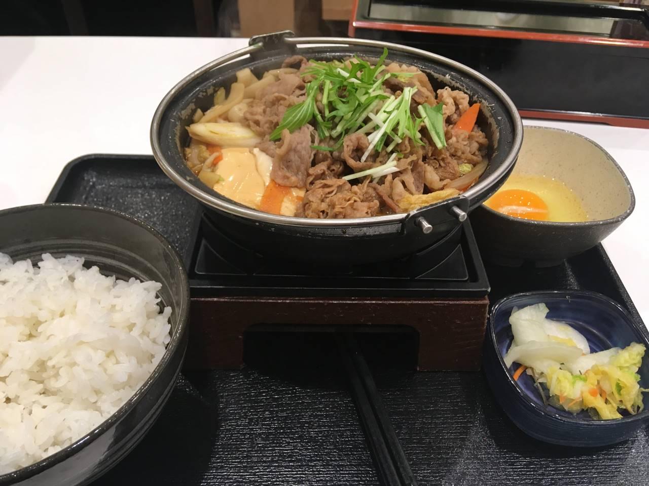 牛すき鍋膳13食目