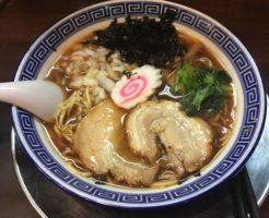 生姜醤油そば(限定麺)らーめん潤亀戸店
