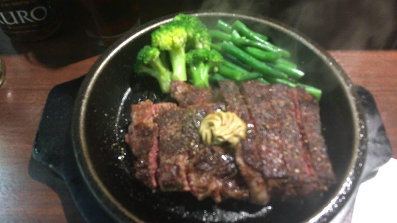 いきなり!ステーキのワイルドステーキ300グラム