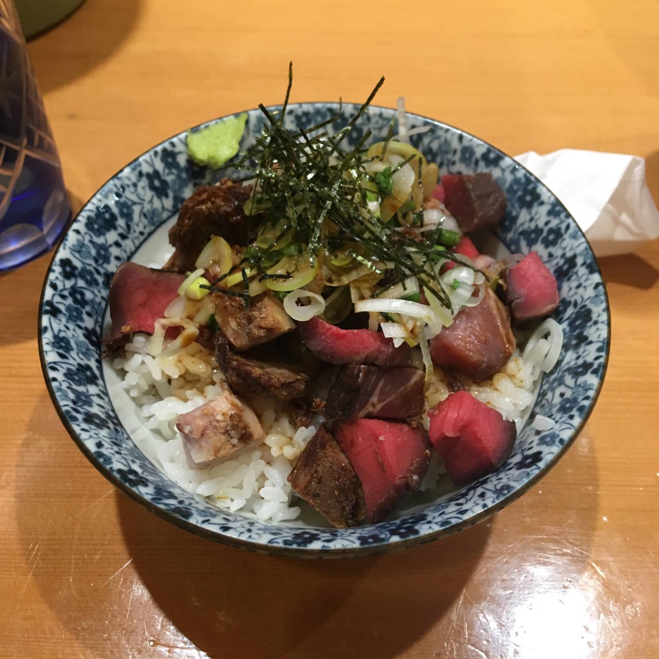 肉玉丼 竹末東京プレミアム