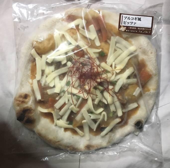 プルコギ風ピッツア|薪窯ナポリピザ フォンターナ