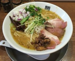 鶏ホタテそば麺大盛り|竹末東京プレミアム