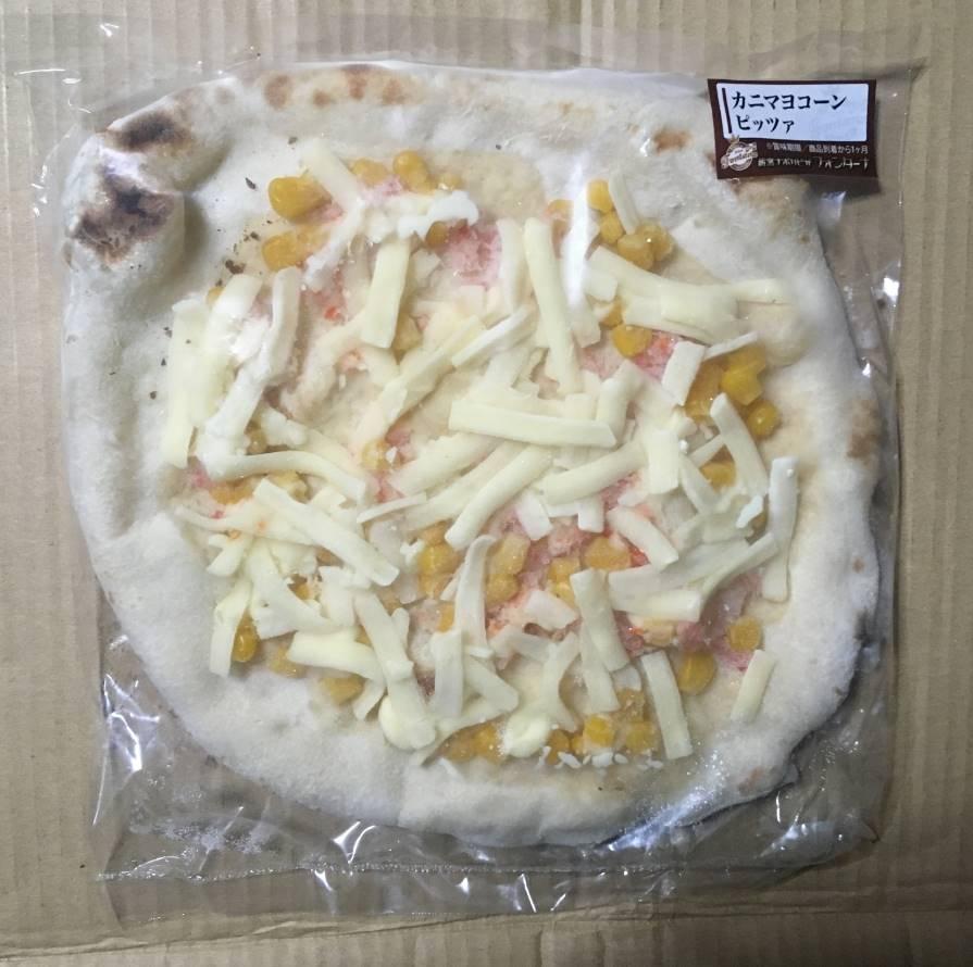 カニマヨコーンのピッツア|薪窯ナポリピザ フォンターナ