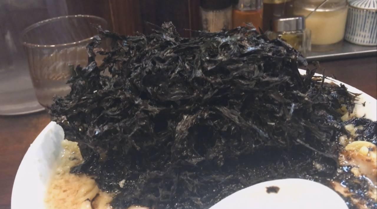 真っ黒な岩海苔