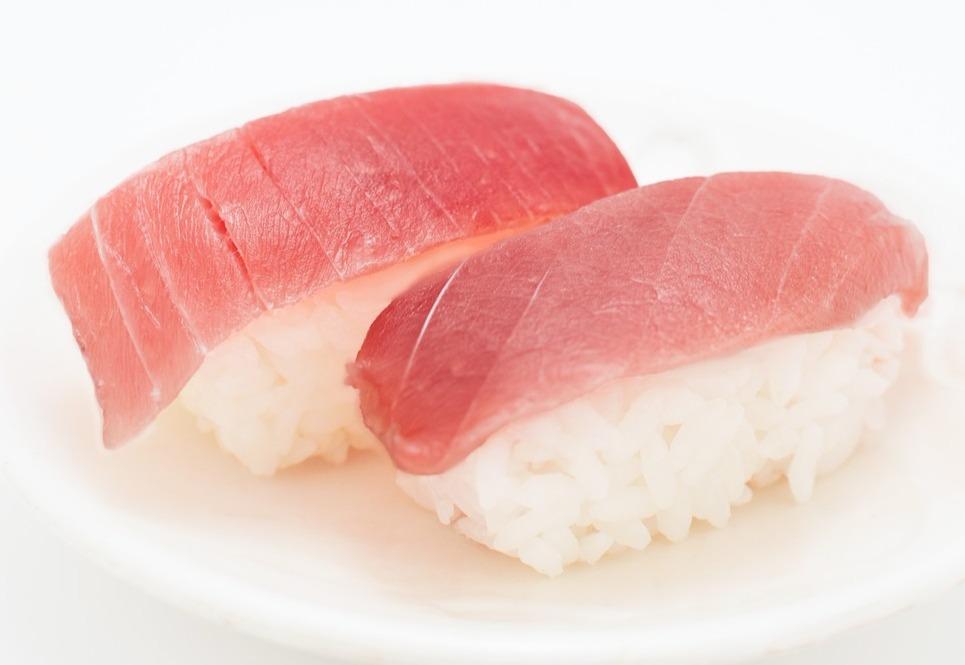 マグロ寿司の写真