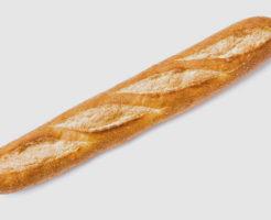 一般的なフランスパンの写真