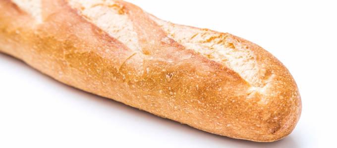 フランスパンの表面写真