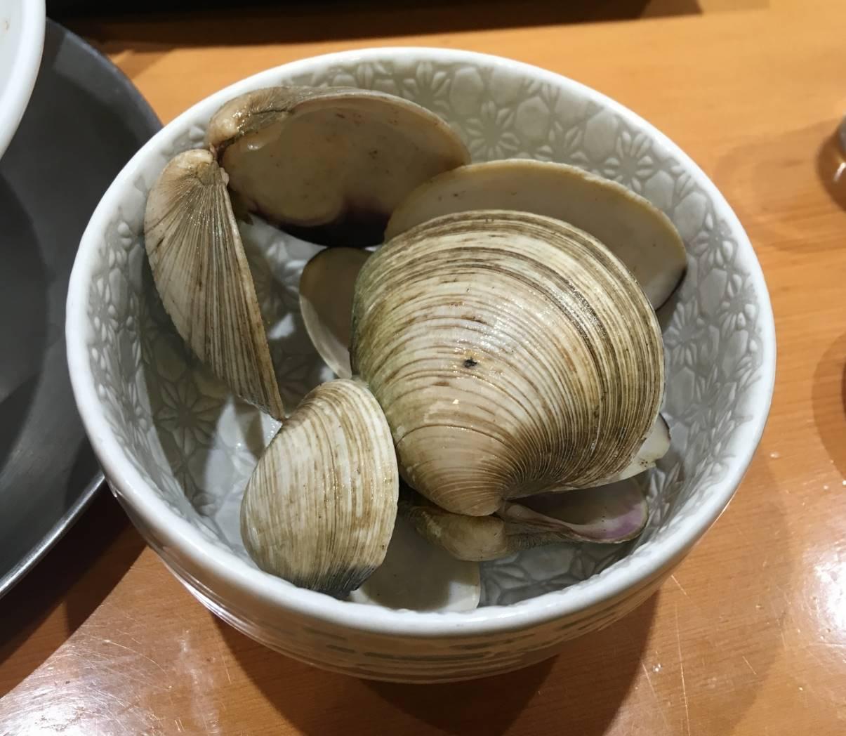 ホンビノス貝の殻