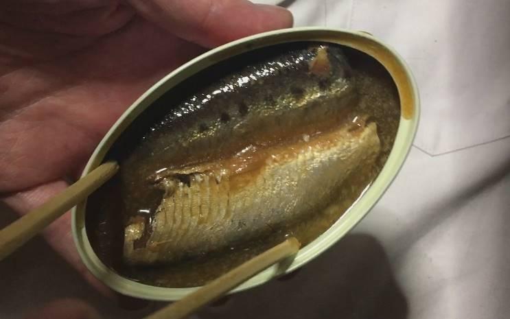 いわし味付け生姜煮(缶詰)食べてみた|キョクヨー