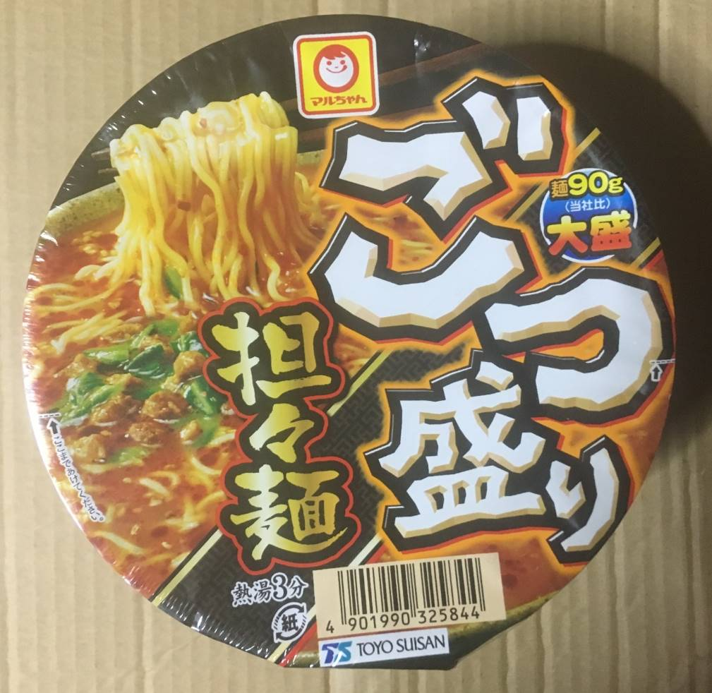 マルちゃんごつ盛り担々麺