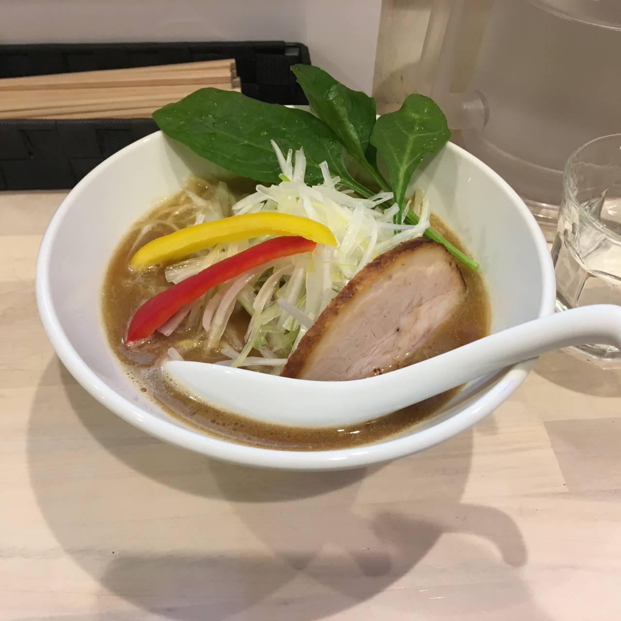 鶏白湯醤油 葱トッピング|拉麺 吉法師