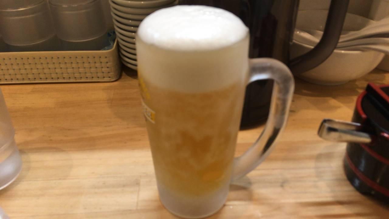 ラーメンソレナリ(Sorenari)のビール