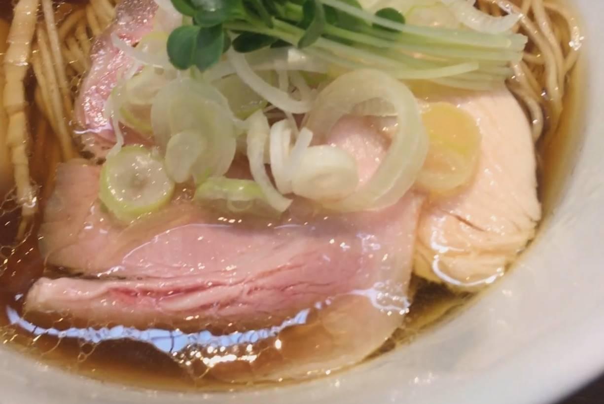 神保町黒須 醤油蕎麦750円