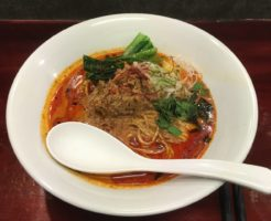 noodles house 錦鯉の 紅蓮地獄坦々麺(担担麺)|錦糸町のラーメン屋