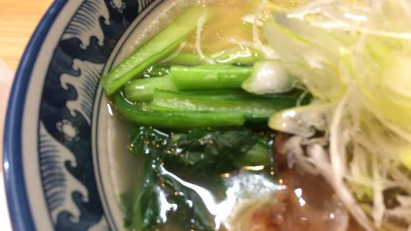 小松菜?ラーメンソレナリ