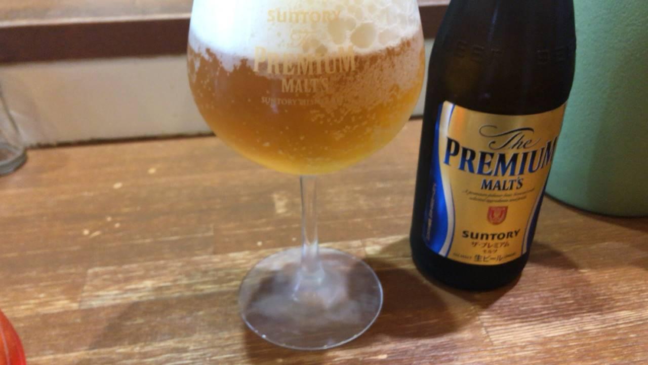 ビール(プレミアムモルツ)600円
