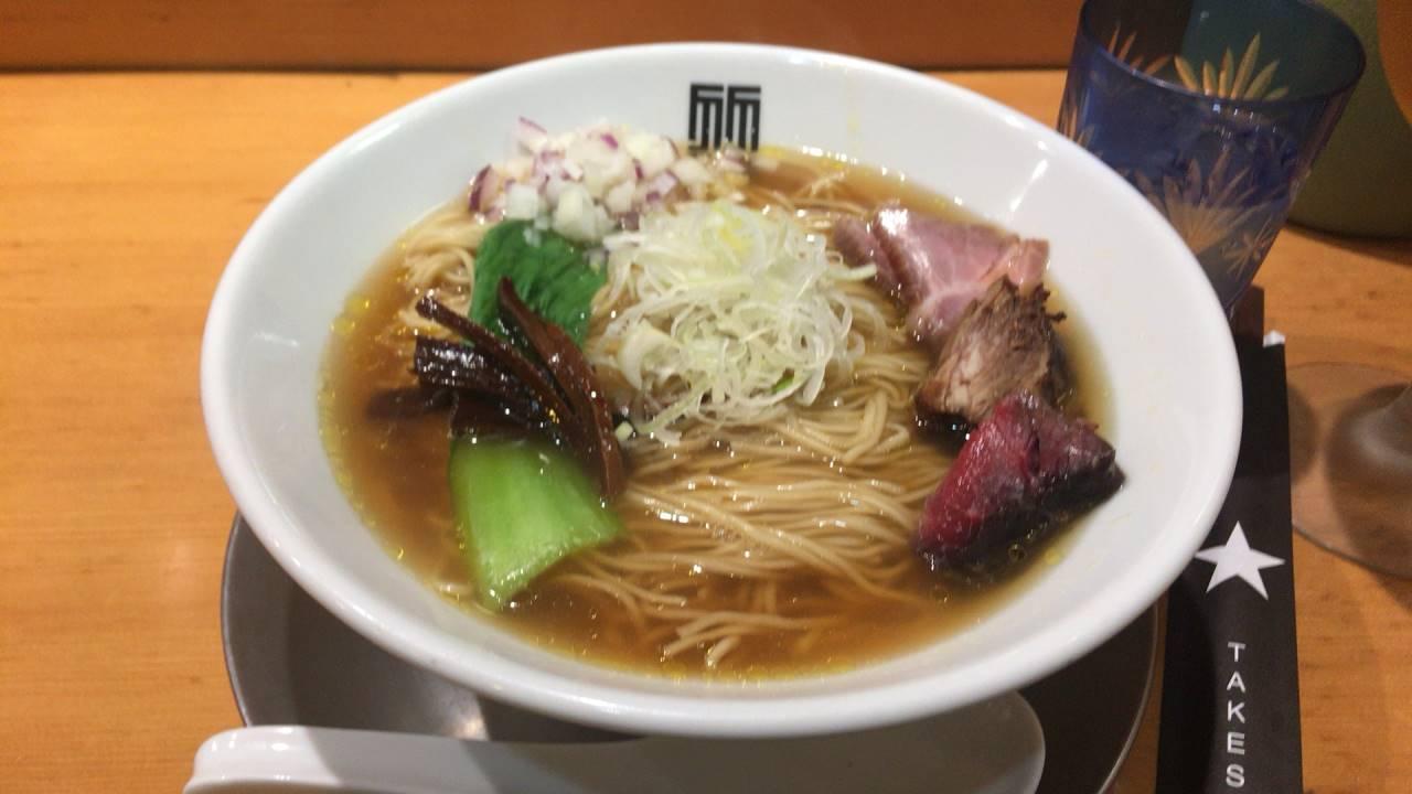 醤油そば(麺大盛)|竹末東京プレミアム