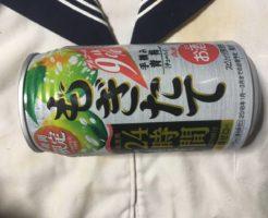 アサヒビール株式会社のもぎたて24時間手摘み青梅チューハイ :写真
