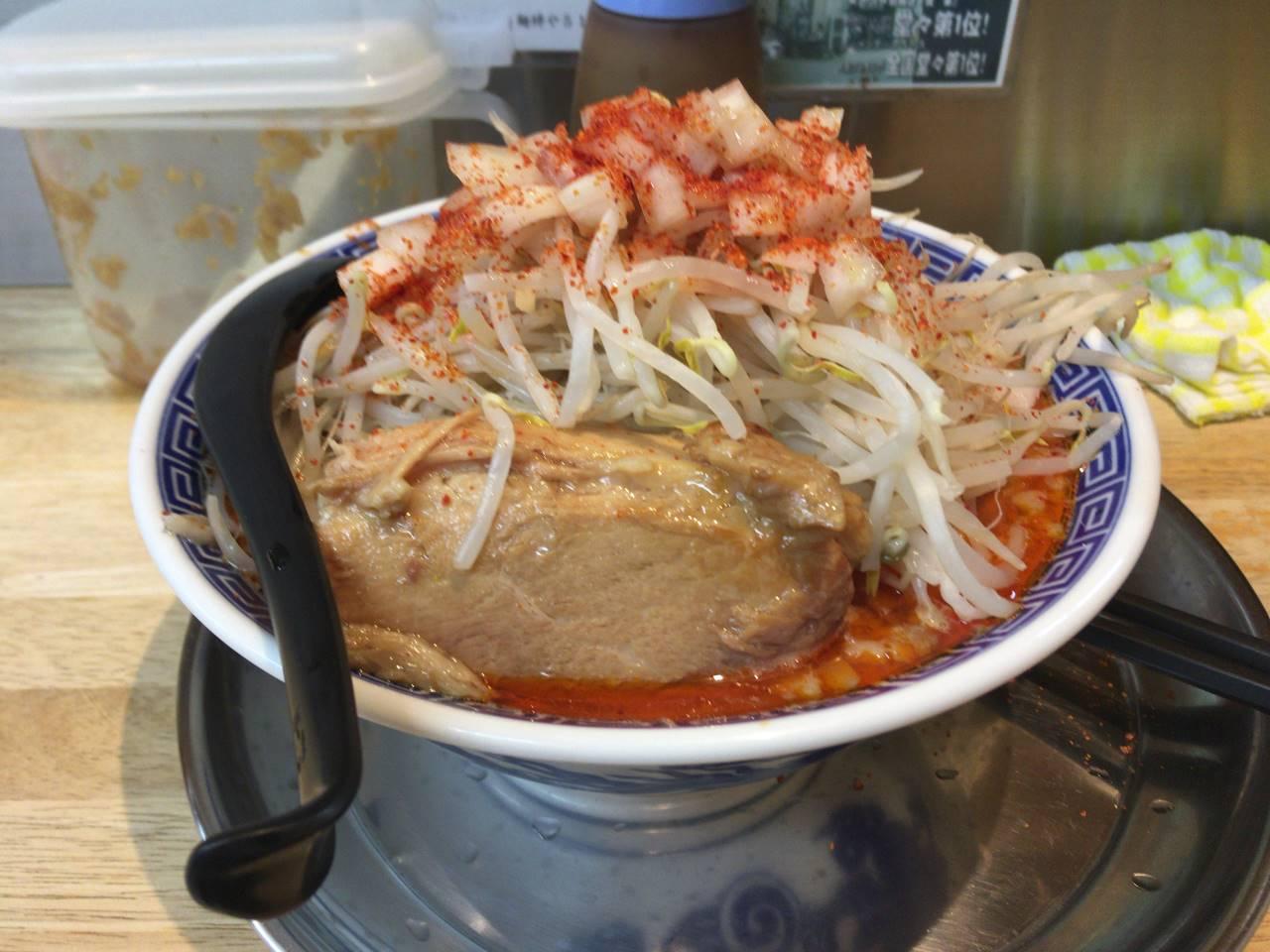 麺絆や 519(こいけ) で四川辣醤麺800円