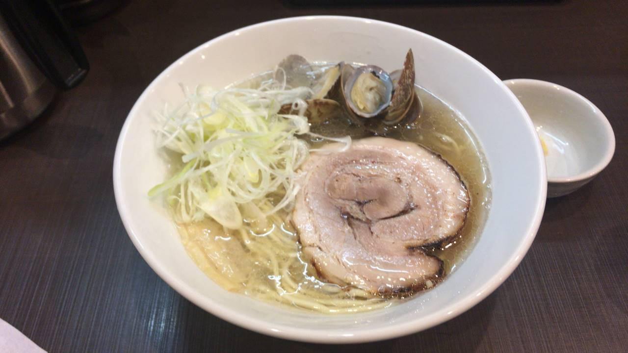 麺屋りゅうの塩ラーメン750円