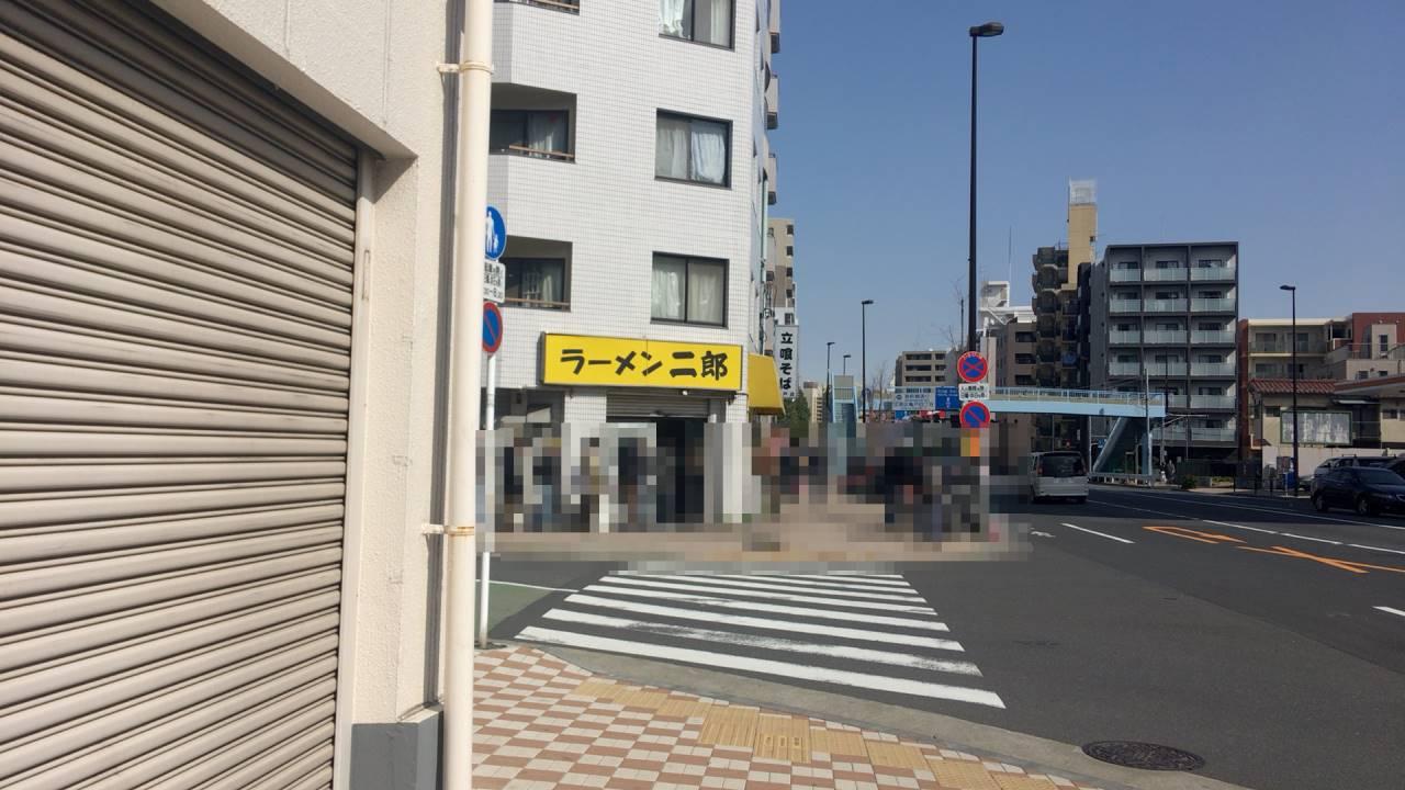 ラーメン二郎 亀戸店 (らーめんじろう)